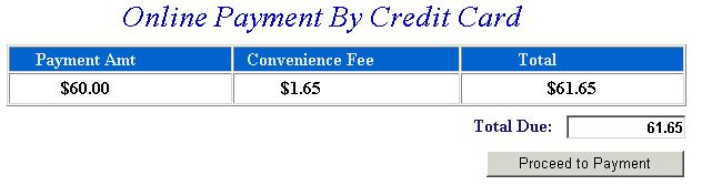 What Is The Convience Fee To Pay Property Taxes